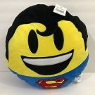 Six Flags Magic Mountain DC Comics Emoji Superman Big Pillow Plush New
