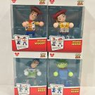 Disney Parks Toy Story Windup Woody Jessie Buzz Lightyear and Alien Set New