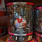 Disney Parks Alice In Wonderland Black Ceramic Tea Pot Gift Set + Tea Bags New