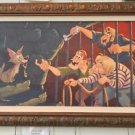 Disney WonderGround Pirates of The Caribbean Jail Scene LE Giclee Bill Robinson
