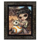 Disney WonderGround Star Wars Rey and BB-8 LE Giclee by Jasmine Becket-Griffith