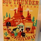 Disney WonderGround Big Thunder Mountain Railroad LE Giclee Signed by Ben Burch