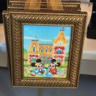 Disney WonderGround Mickey & Minnie Mouse Meet You At Main St. Frame Joey Chou