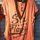 Six Flags Magic Mountain Adult T-Shirt SIZE XS,M,L XL,XXL New