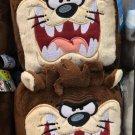 "Six Flags Magic Mountain Looney Tunes Tasmanian Devil ""Taz"" Cube Plush New"