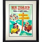 Disney WonderGround Mr. Toad's Take a Wild Ride LE Giclee by Dave Perillo New