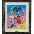 Disney Parks Sorcerer Mickey Fantasia Remembered LE Giclee by Don Williams New