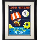 Disney WonderGround Peter Pan London to Neverland LE Giclee by Dave Perillo New