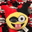 Six Flags Magic Mountain DC Comics Emoji Harley Quinn Mini Plush New