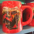 Six Flags Magic Mountain Dc Comics Nightwing Double Sided 20oz. Ceramic Mug New