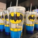 Six Flags Magic Mountain Dc Comics Classic Batman LED Travel Tumbler New