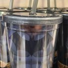 Six Flags Magic Mountain Dc Comics Batman Body Suit Travel Tumbler w/ Straw New
