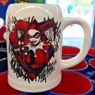 Six Flags Magic Mountain Dc Comics Harley Quinn Double Side Ceramic Mug New