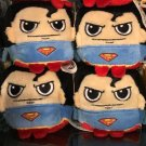 Six Flags Magic Mountain Dc Comics Superman Cube Mini Plush New