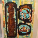 Disney WonderGround Enchanted Tiki Room LE Canvas Wrap by Michelle Bickford New