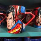 Six Flags Magic Mountain Dc Comics Superman Shield Handle Mug New