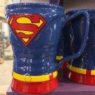 Six Flags Magic Mountain Dc Comics Superman Uniform Ceramic Mug New
