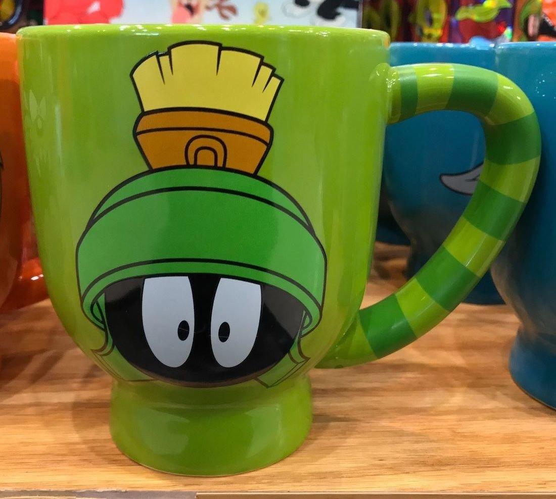 Six Flags Magic Mountain Looney Tunes Marvin The Martian 20oz. Jumbo Ceramic Mug