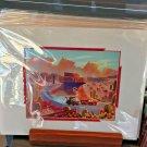 Disney WonderGround Cars Race Around Radiator Springs Deluxe Print by Joey Chou