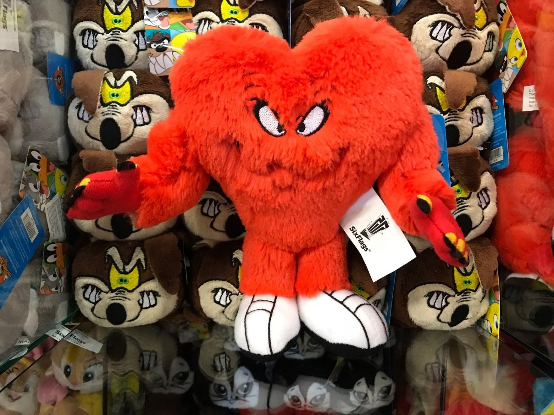 "Six Flags Magic Mountain Looney Tunes Gossamer 8"" Plush New"