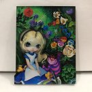 Disney Wonderground Gallery Alice In The Garden Magnet Jasmine Becket-Griffith