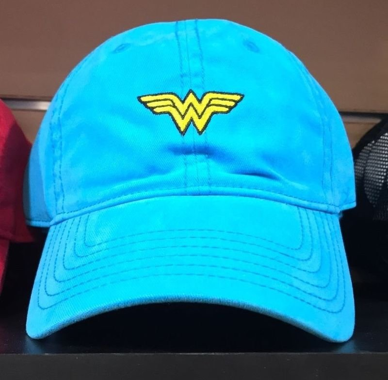 Six Flags Magic Mountain Dc Comics Classic Wonder Woman Adjustable Baseball Hat