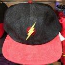 Six Flags Magic Mountain Dc Comics The Flash Jean Adjustable Baseball Hat New