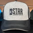 Six Flags Magic Mountain Star Labs Meshed Adjustable Snapback Hat Cap New