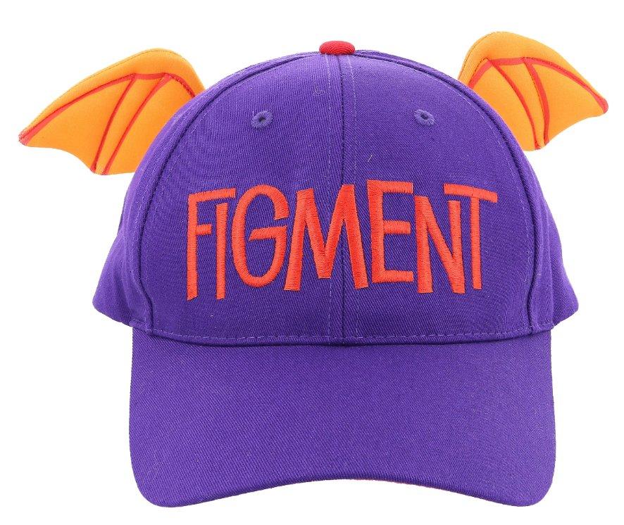 Disney Parks Walt Disney World Epcot Figment Adult Size Baseball Cap Hat New