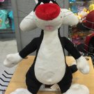 "Six Flags Magic Mountain Looney Tunes Sylvester Cat 12"" Plush New with Tags"