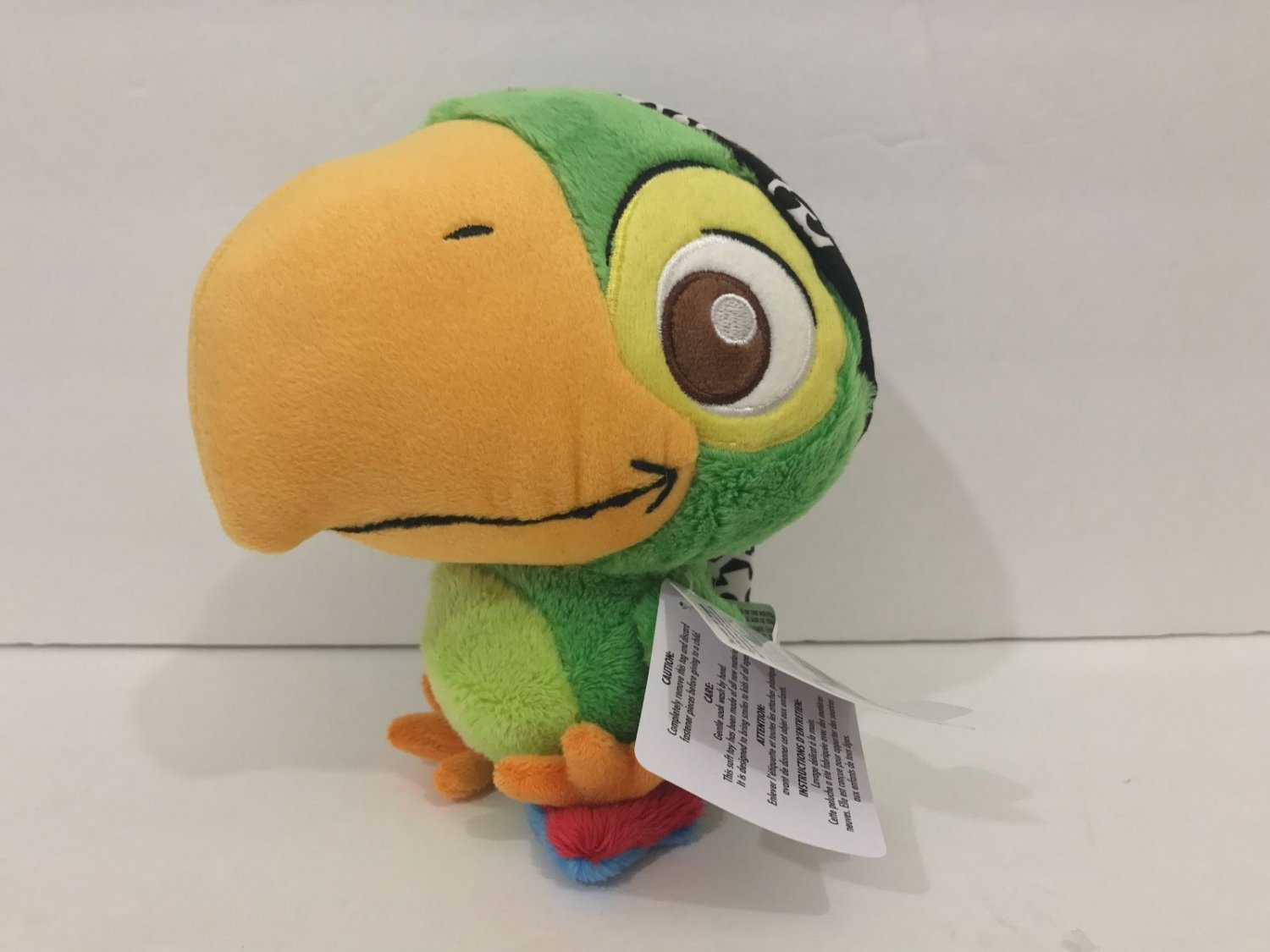"""Disney Parks Jake and the Neverland Pirates 8"""" Skully Plush New with Tags"""