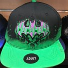 Six Flags Magic Mountain Dc Comics Batman Hahahaha Adjustable Baseball Hat New