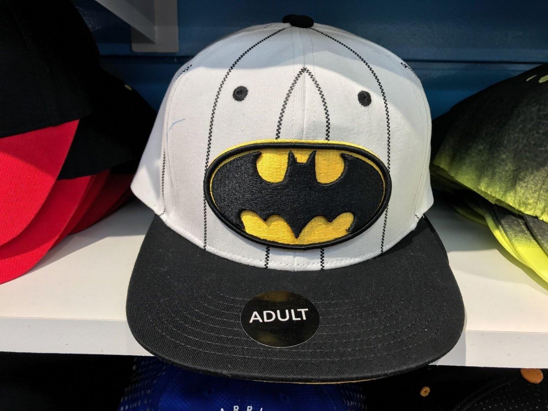 Six Flags Magic Mountain Dc Comics Batman Stitched Snapback Hat New