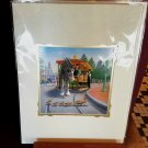 Disney Parks Main Street Traffic Stop Deluxe Print By Steve Adams New