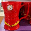 Six Flags Magic Mountain Dc Comics The Flash Uniform Ceramic Mug New
