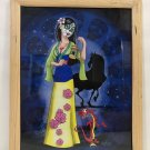 MULAN MEETS DAY OF THE DEAD MULAN FRAME PRINT BY Sandra Caravalho NEW