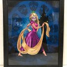 RAPUNZEL MEETS DAY OF THE DEAD RAPUNZEL FRAME PRINT BY Sandra Caravalho NEW