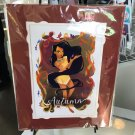 Disney WonderGround Pocahontas Autumn Deluxe Print by Victoria Ying New