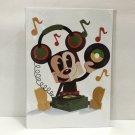 Disney WonderGround Mickey Mouse in The Groove Postcard by Matt Hawkins New