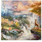 Disney Parks Bambi Wrap Print by Thomas Kinkade Studios New