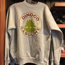 DISNEY PARKS DCA CARS LAND RADIATOR SPRINGS DINOCO GASOLINE MENS SWEATSHIRT NEW