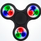 Disney Parks Exclusive Mickey Mouse Emoji Light Up Black Plastic Spinner New