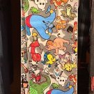 Disney Parks Multi Character Adult Socks Elliot Genie Dopey Cheshire Olaf New