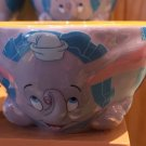 Disney Parks Dumbo The Great Ceramic Appetizer Bowl New