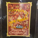 Disney D23 Exclusive Pirates Of The Caribbean 50 Years Print By Mike Peraza