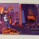 Disney D23 Expo 2017 Scoundrels And Skeletons Complete Set Postcard by Shag New