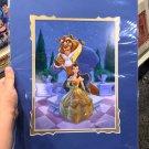Disney D23 2017 Expo Beauty And The Beast Romantic Garden Print by Larry Nikolai