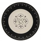Disney Parks Disney Kitchen Mickey Icon Ceramic Plate (Set of 4 Plates) New