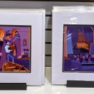 Disney D23 Expo 2017 Scoundrels and Skeletons Complete Set Deluxe Print Shag New