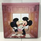 Disney WonderGround Mickey & Minnie in Smooch LE Giclee Signed by June Kim New